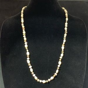 Jewelry - Tri-Tone Endless Freshwater Pearl Strand